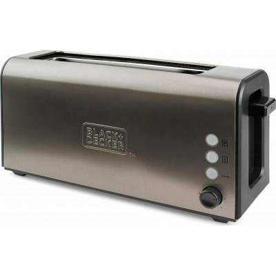 Black & Decker BXTO1000E toaster 1 slice(s) 900 W Brown