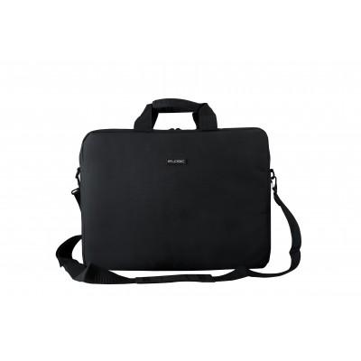 "Modecom LOGIC BASIC notebook case 39.6 cm (15.6"") Briefcase Black"