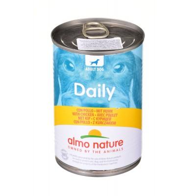 ALMO NATURE Daily Menu Dog Kurczak - puszka 400g