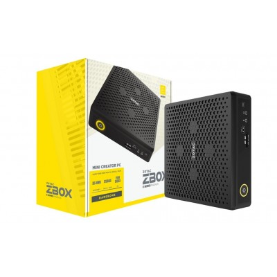 Zotac ZBOX EN072080S Black i7-10750H 2.6 GHz