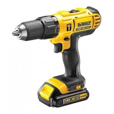 DeWALT DCD776C2 drill Keyless 1500 RPM Black,Yellow 1.72 kg
