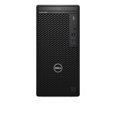 DELL OptiPlex 3080 10th gen Intel® Core™ i3 i3-10100 8 GB DDR4-SDRAM 256 GB SSD Mini Tower Black PC Windows 10 Pro