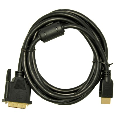 Akyga AK-AV-11 video cable adapter 1.8 m HDMI Type A (Standard) DVI-D Black