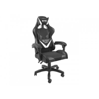 FURY GAMING CHAIR AVENGER L BLACK AND WHITE