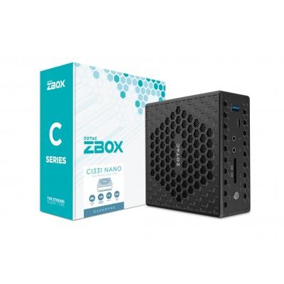 Zotac ZBOX CI331 nano Black N5100 1.1 GHz