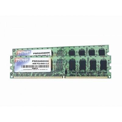 Patriot Memory 4GB DDR2 PC6400 DC Kit memory module 2 x 2 GB 800 MHz