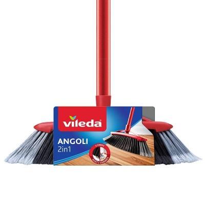 Sweeping brush VILEDA Profiled 2in1 (red)