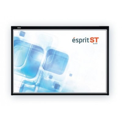 "2x3 S.A. TIWEST interactive whiteboard 2.03 m (80"") 1280 x 1024 pixels Black USB"