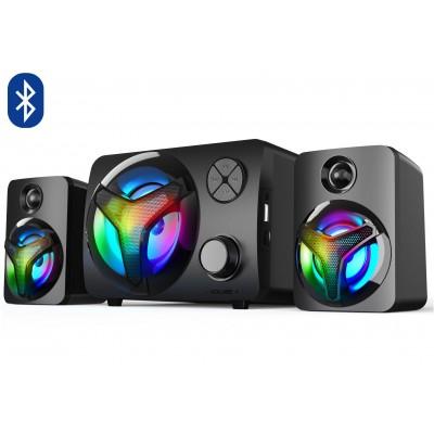 2.1 Computer Speakers with RGB Backlight, Bluetooth Vakoss SP-3140BK