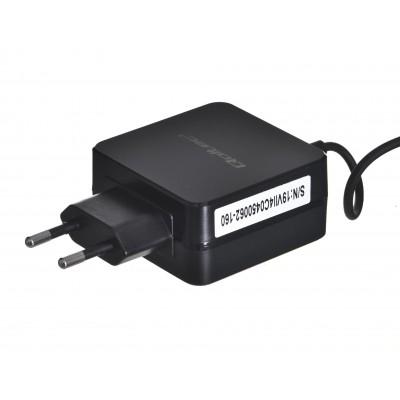 Qoltec 50062.45W power adapter/inverter Indoor Black