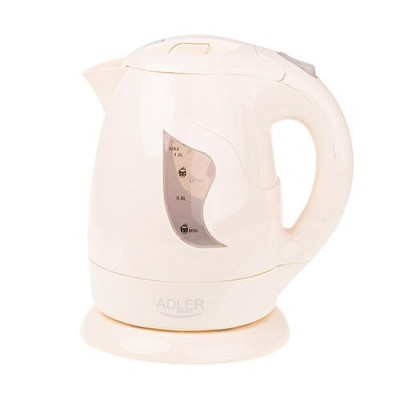 Adler AD 08b electric kettle 1 L Beige 850 W