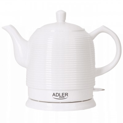 Adler AD 1233 electric kettle 1.2 L White