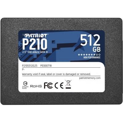 """Patriot Memory P210 2.5"""" 512 GB Serial ATA III"""