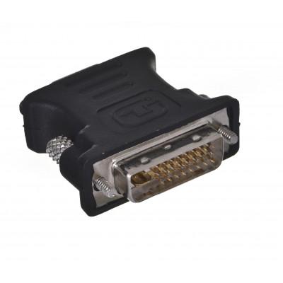 Savio CL-25 cable interface/gender adapter DVI 24+5 VGA 15 pin Black