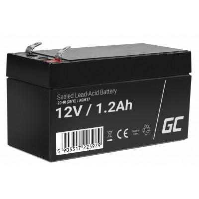 Green Cell AGM17 UPS battery Sealed Lead Acid (VRLA) 12 V 1.2 Ah