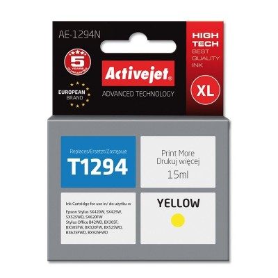 Activejet ink for Epson T1294