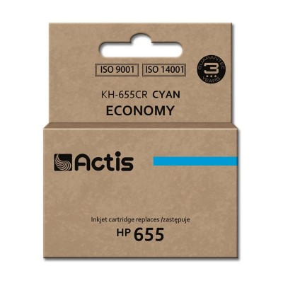Actis cyan ink cartridge for HP (HP 655 CZ110AE replacement)