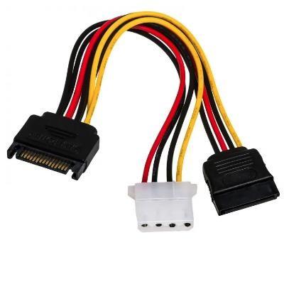 Akyga AK-CA-32 SATA cable 0.15 m Black,Red,Yellow