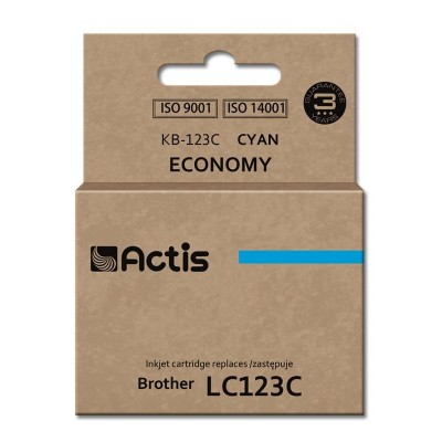 Actis KB-123C ink cartridge for Brother printer LC123 cyan