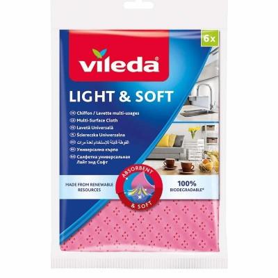 Vileda LIGHT&SOFT cleaning cloth 6 pc(s)