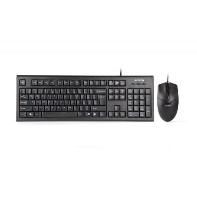 A4Tech KR-85550 keyboard USB + PS/2 Black