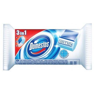 Domestos 3w1 Disinfecting cleaner Solid Atlantic