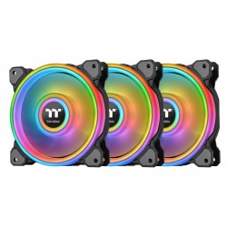 Thermaltake Riing Quad 14 RGB Computer case Fan 14 cm Black