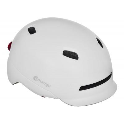 "Kask Smart4U SH50 LED ""M"", biały"