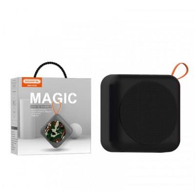BLUETOOTH SPEAKER SOMOSTEL MAGIC H230 BLACK 5W - USB + MEMORY CARD READER - WATER RESISTANT