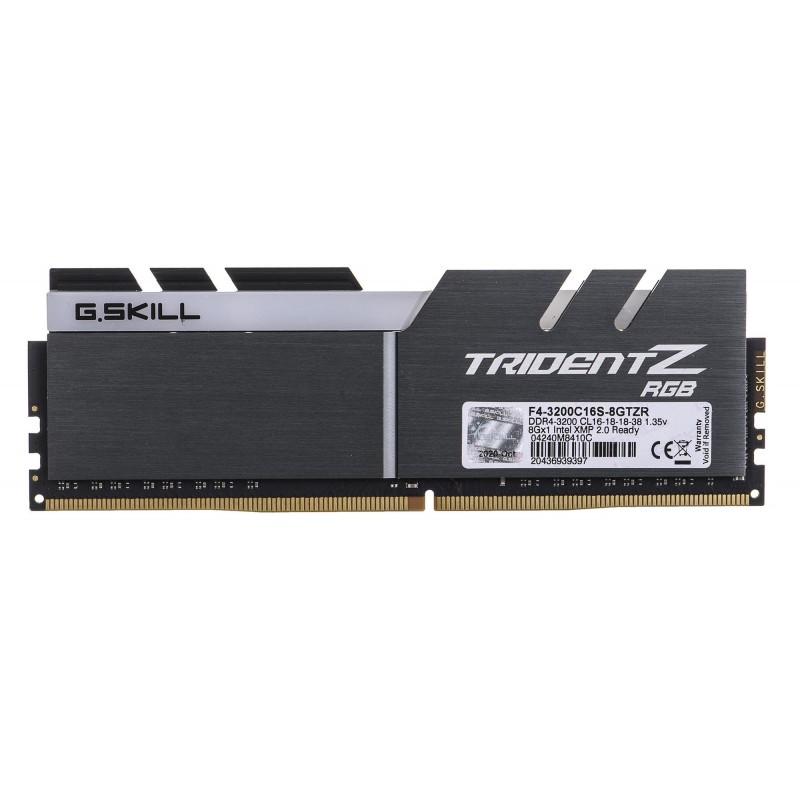 G.SKILL TRIDENTZ RGB DDR4 8GB 3200MHZ CL16 XMP2