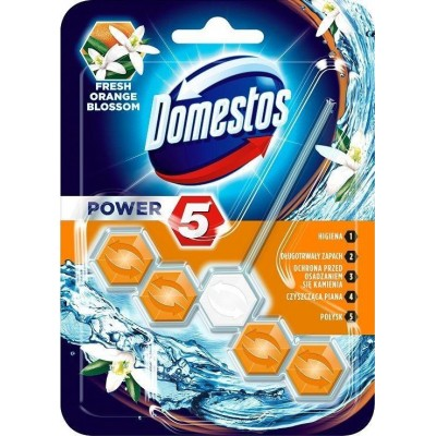 Domestos Power 5 Disinfecting cleaner Solid Orange
