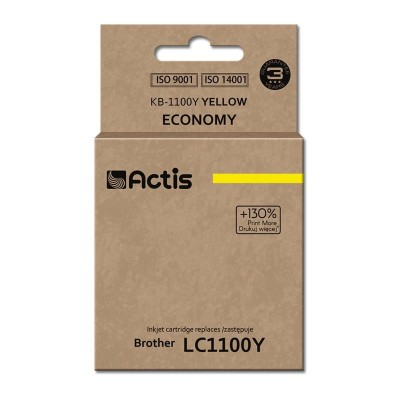 Actis KB-1100Y ink cartridge for Brother printer LC1100/LC980 yellow