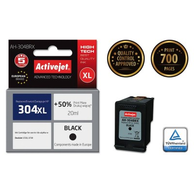 Activejet AH-304BRX ink cartridge for Hewlett Packard No.304XL N9K08AE