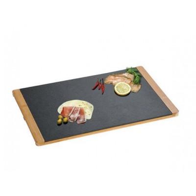 Kesper 38131 food service tray Rectangle Black,Wood