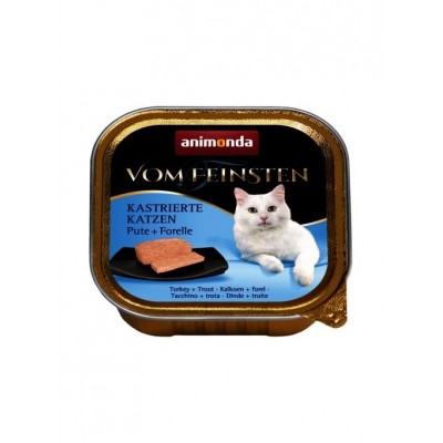 animonda Vom Feinsten Neutered Cat - Turkey, Trout 100g