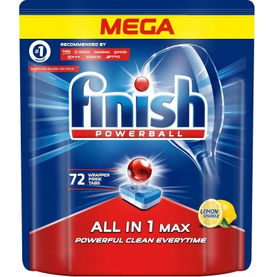 Finish Tablets All-In-1 Max 72 Lemon