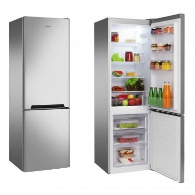 Amica FK2515.4UTXAA fridge-freezer Freestanding Stainless steel