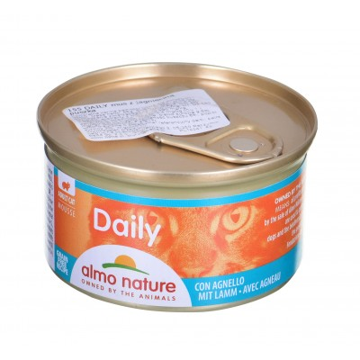 ALMO NATURE Daily Menu Mus z jagnięciną puszka 85g