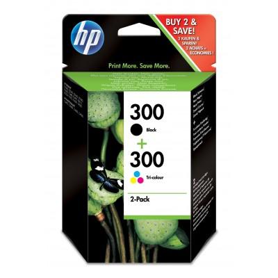 HP 300 Original Black, Cyan, Magenta, Yellow 2 pc(s)