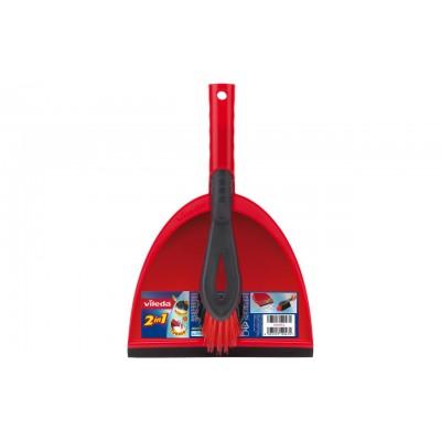 Vileda 141743 dustpan/dustpan set Dust pan & brush set Black,Red