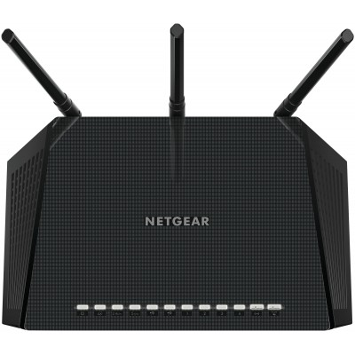 Netgear R6400 wireless router Dual-band (2.4 GHz / 5 GHz) Gigabit Ethernet Black