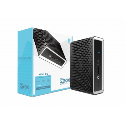 Zotac ZBOX CI662 nano 1.8L sized PC Black BGA 1528 i7-10510U 1.8 GHz