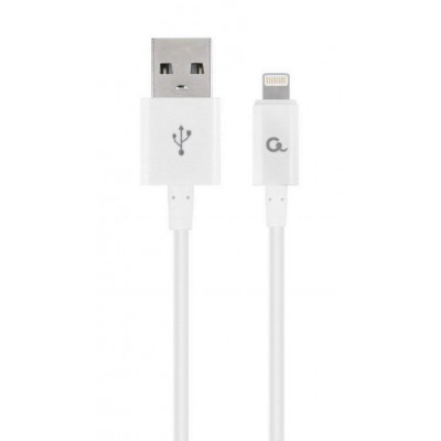 Cablexpert CC-USB2P-AMLM-2M-W lightning cable White