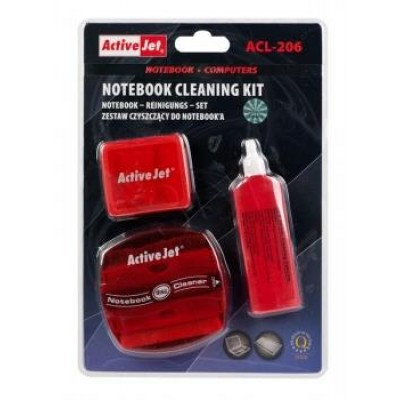 Activejet ACL-206 notebook cleaning set