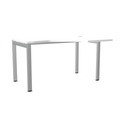 Biurko ART BSA25 PRAWE 137x100xH.76 biały/metal