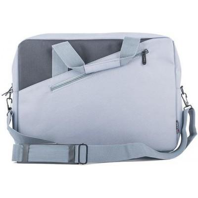 "Logic Cool Gray 13.3"" notebook case 33.8 cm Messenger case Gray"