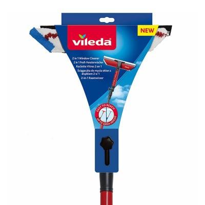 Vileda 123389 window cleaning tool Red