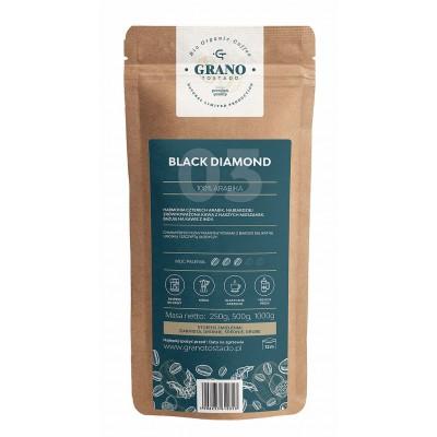 Grano Tostado Black Diamond Coffee, medium ground  250 g