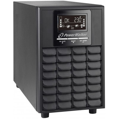 PowerWalker VFI 1500 CG PF1 uninterruptible power supply (UPS) Double-conversion (Online) 1500 VA 1500 W 4 AC outlet(s)
