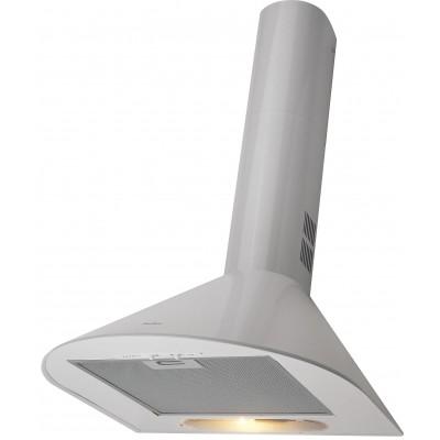 Amica OKC5111MW cooker hood White 240 m3/h D